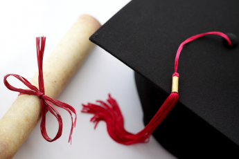 Degree and hat